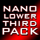 nano lower third pack - VideoHive Item for Sale