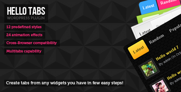 CodeCanyon Hello tabs wordpress widget 3212734