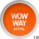WowWay - Interactive & Responsive HTML Portfolio - ThemeForest Item for Sale