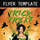 Trick Or Treat Halloween Flyer - GraphicRiver Item for Sale
