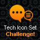 Tech Icon Set - GraphicRiver Item for Sale