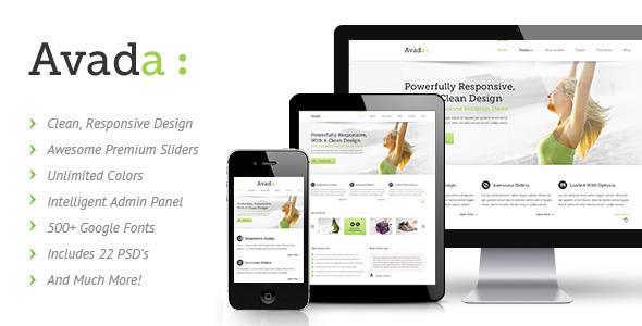 Avada - Theme / Tema / Plantilla Responsive y Multiusos para WordPress