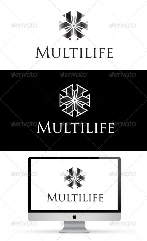 Multilife Logo - Vector Abstract