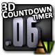 3D Countdown Timer - ActiveDen Item for Sale