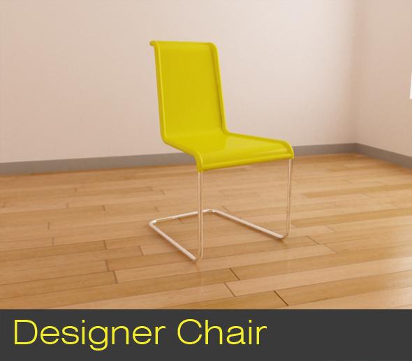 3DOcean Designer Chair 113467