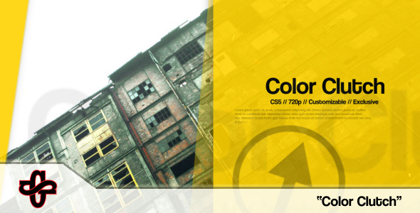 After Effects Project - VideoHive Color Clutch Slideshow 3225850