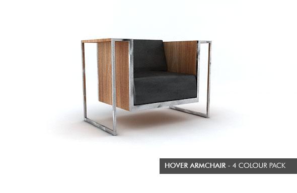 3DOcean Hover Armchair 113483