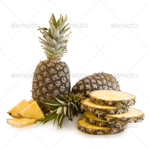 Fresh pineapple fruits - Stock Photo - Images