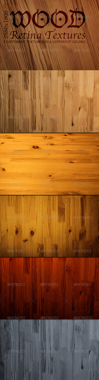 Retina Wood Textures - Wood Textures