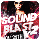 Club Sessions l Sound Blast Vol.2 Party Flyers - GraphicRiver Item for Sale