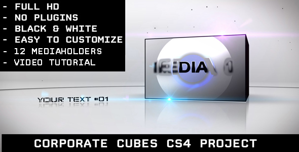 After Effects Project - VideoHive Corporate Cubes 113503