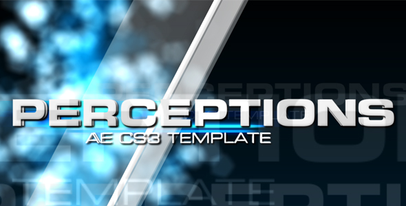After Effects Project - VideoHive Perceptions 113511