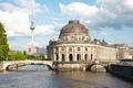 Berlin, museum island on Spree river, Tv Tower view - PhotoDune Item for Sale