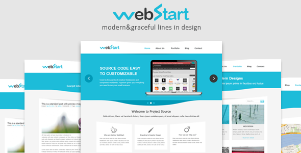 WebStart-PSD Template