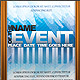 Three Event Flyers/Posters - Layered, CMYK, 300dpi - GraphicRiver Item for Sale