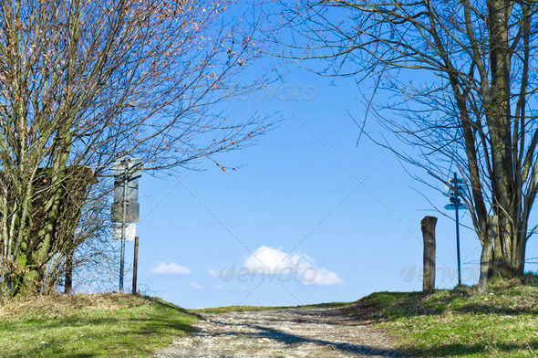 path to sky - Stock Photo - Images