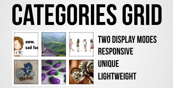 Categories Grid - Plugin for WordPress