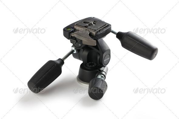 tripod head - Stock Photo - Images