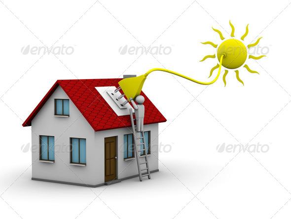 Stock Photo - PhotoDune Solar energy 2022774