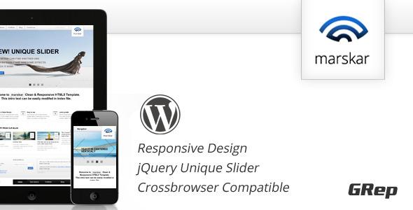 Marskar - Responsive HTML5/CSS3 WP