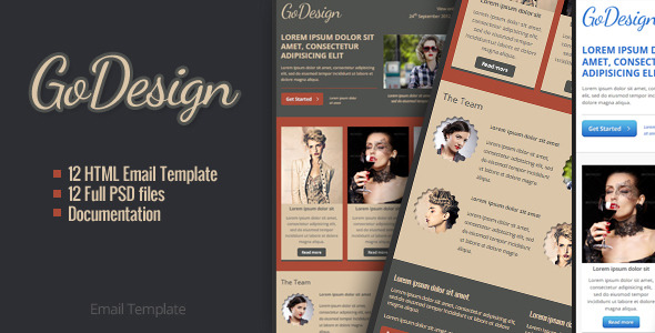 GoDesign Email Template