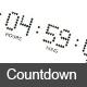 Countdown Timer - ActiveDen Item for Sale