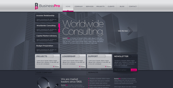 Business Template #10 - Business Corporate