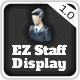 EZ Staff Display and Management