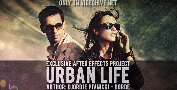 After Effects Project - VideoHive Urban Life 3228503