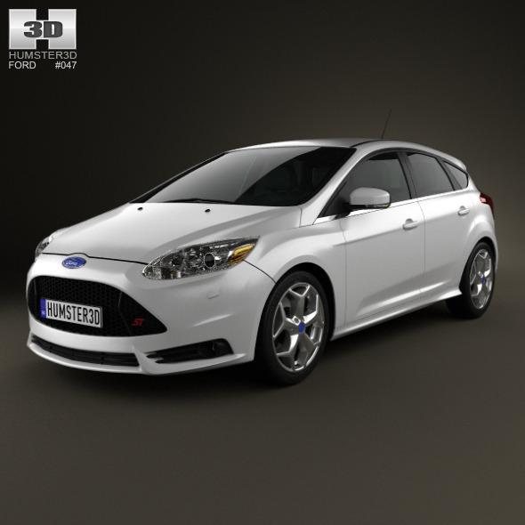 Ford Focus ST 2012 - 3DOcean Item for Sale