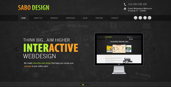 ThemeForest Sabo Design 3216609