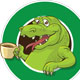 Crock cofee mascot - GraphicRiver Item for Sale