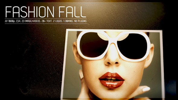 After Effects Project - VideoHive Fashion Fall 3229632