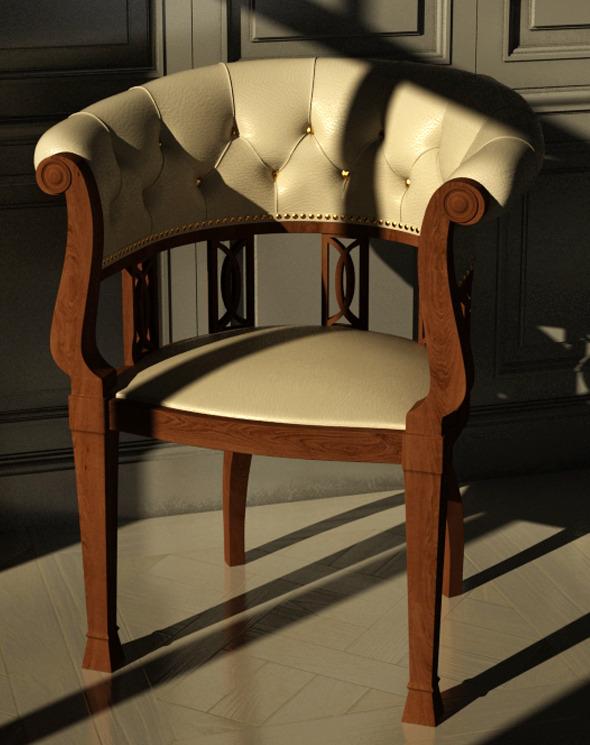 3DOcean Classic Chair 3229823