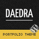Daedra - Responsive Portfolio Wordpress Theme - ThemeForest Item for Sale
