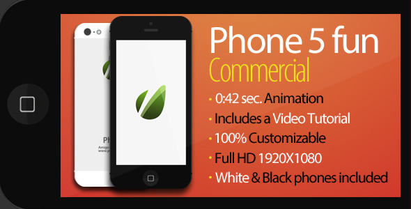 VideoHive Phone 5 Fun Commercial 3206072
