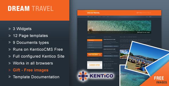 ThemeForest Dream Travel for Kentico CMS 113706