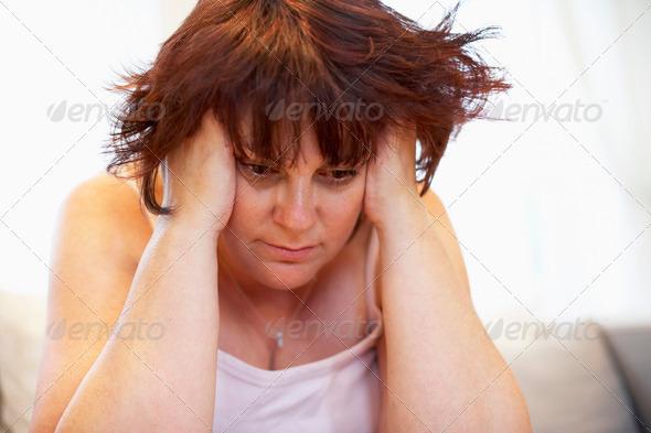 PhotoDune Depressed Overweight Woman 333394