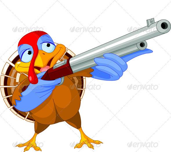 GraphicRiver Shooting Turkey 3231822