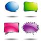 Shining Speech Bubble - GraphicRiver Item for Sale