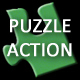Landscape Jigsaw Puzzle Action - GraphicRiver Item for Sale