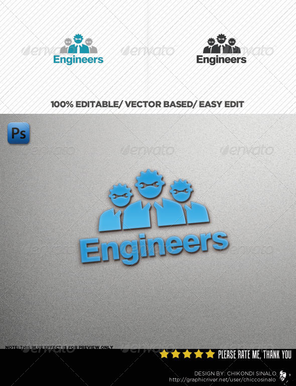 Engineers Connection Logo Template - Humans Logo Templates