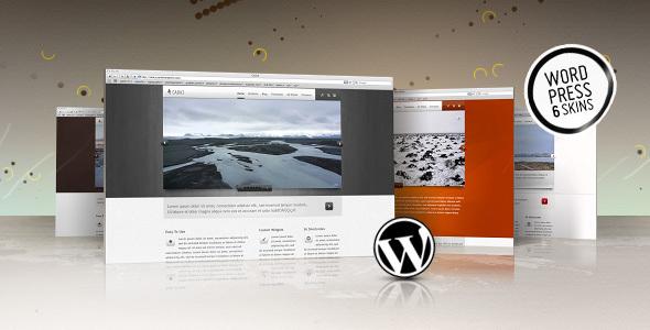 ThemeForest WordPress Cadca Theme 6 Skins 112409