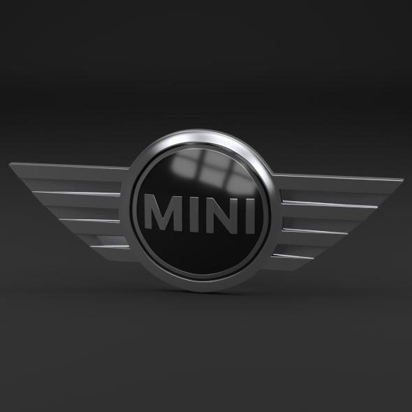 Mini Cooper Logo - 3DOcean Item for Sale