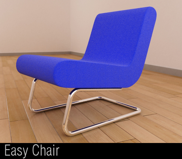 Easy Chair - 3DOcean Item for Sale