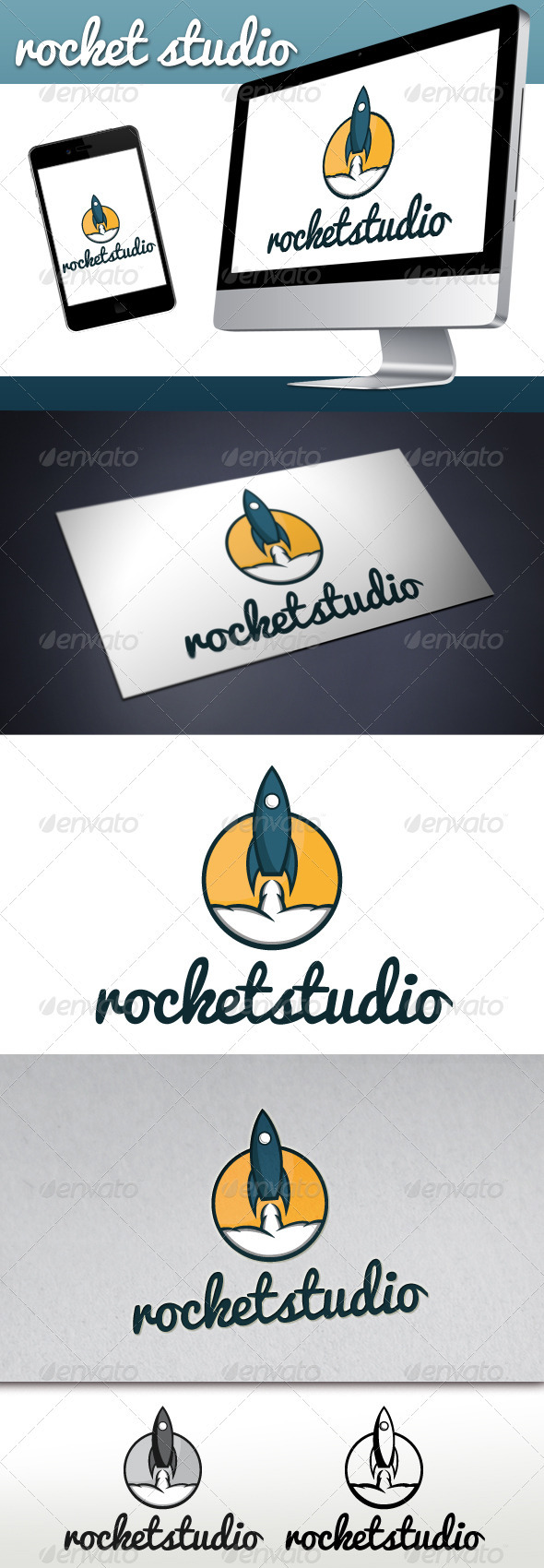 Rocket Studio Logo