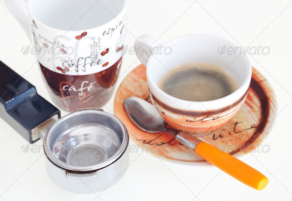 Cup of coffee - Stock Photo - Images