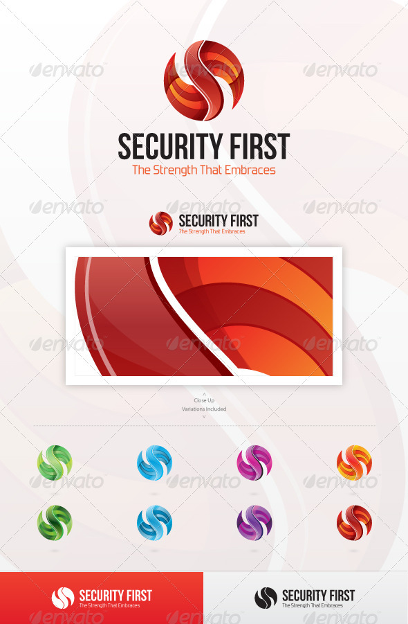 Security First Logo - Letters Logo Templates