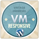 Vintage Immersed - Multipurpose WordPress Theme - ThemeForest Item for Sale