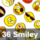 36 Smiley - GraphicRiver Item for Sale
